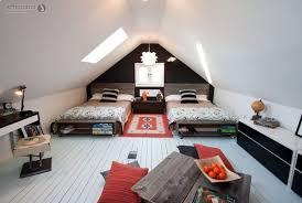 cottage attic bedroom ideas double brown wooden vintage dresser