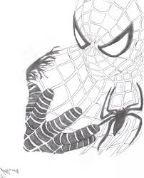 easy spiderman drawing how to draw spiderman easy step step