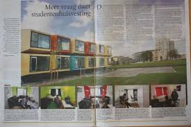 wittenborg university student housing in apeldoorn in the news