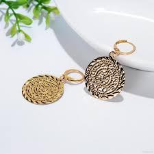gold plated earrings for sensitive ears earrings wonderful 14k gold earrings 14k yellow gold wavy