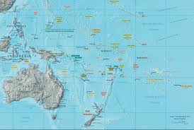 International Date Line Map Maps Of Australia And Oceania Map Library Maps Of The World