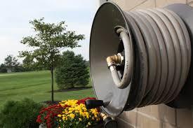 amazon com eley rapid reel wall mount garden hose reel model