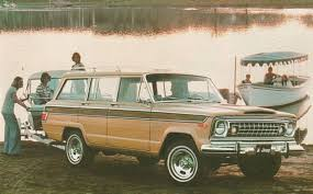 old jeep grand wagoneer jeep grand wagoneer tag hemmings daily