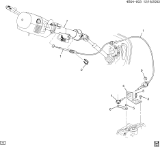 pontiac montana sv6 awd ux1 shift control automatic