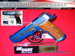 p226 x5 blue moon master shop gun in box for sale
