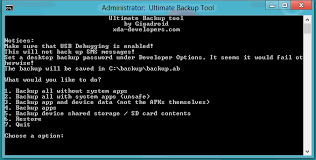 backup apk without root backup tool no root required