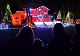 lights of livermore holiday tour watch livermore home s holiday lights win tv contest the mercury news