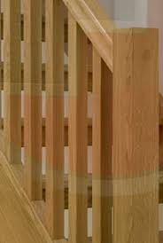 Oak Stair Banister Stair Spindles And Stair Balusters Trade Prices