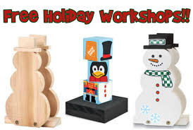 home depot canada free holiday workshops u0026 more