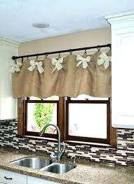 window treatment ideas for kitchen rustic curtain ideas rustic window treatment ideas kitchen window