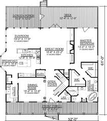 house plans with elevators an elevator and two stair options 9144gu architectural designs