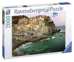 Cinque Terre Map Ravensburger 16615 Cinque Terre Italien 2000 Teile Puzzle