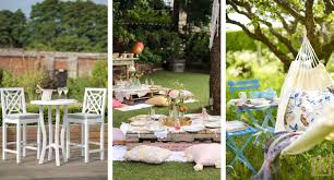 garden party styling tips