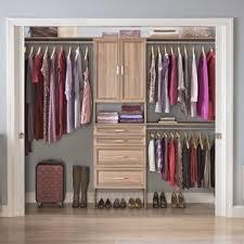 Wardrobe With Shelves by Closet Systems U0026 Organizers You U0027ll Love Wayfair