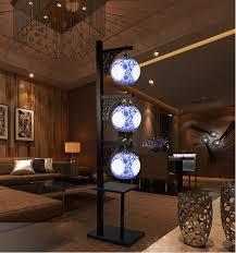 China Home Decor Antique Led E27 Home Decor Luminaire Ceramic L Shade Study Room