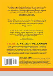 amazon com e mail a write it well guide 9780963745590 janis