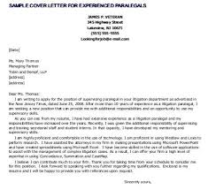 sample cover letter for paralegal personal injury lawyer resume