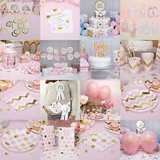 christening decorations pattern pink baby shower party decorations christening