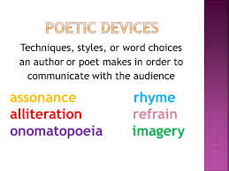 poetic devices u0026 poetic forms ppt video online download