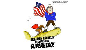 10 reasons why benjamin franklin was actually a superhero the