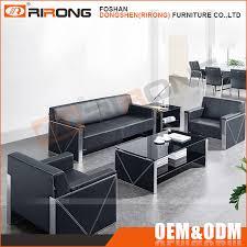 canap bureau moderne de luxe bureau canapé ensemble en acier inoxydable cadre