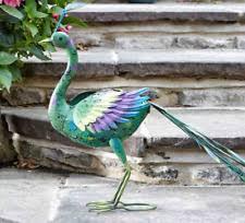 peacock garden ornament ebay