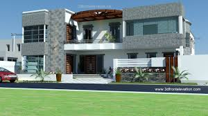 3d front elevation com 700 yards house plan 3d front elevation