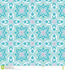 Moorish Design The Arab Pattern Stock Vector Image 73079759