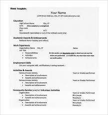 standard resume format free download creative resumes resume