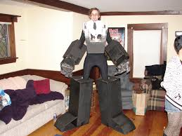 giant robot costume 9 steps with pictures