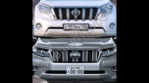 land cruiser prado car 2018 toyota land cruiser prado facelift leaks on social media