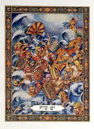 arthur szyk exodus from illustration by arthur szyk haggadot