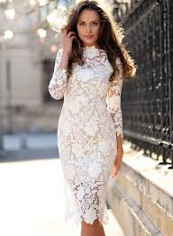 lace dress women s 3 4 sleeve bodycon lace dress azbro