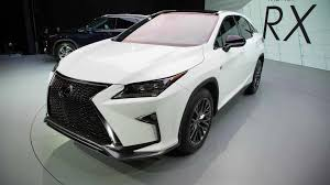 lexus rx new york motor show lexus rx f with v8 engine could happen but not in the near future