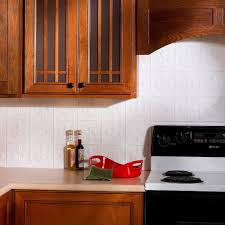 fasade 18 in x 24 in traditional 1 pvc decorative backsplash