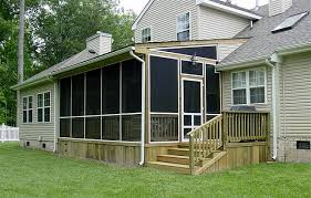 Garage With Screened Porch Aluminum Screen Porch Kits Garage Diy Screen Porch Kits U2013 Porch