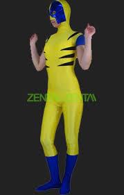 Halloween Costumes Wolverine Wolverine Costume Spandex Lycra Bodysuits