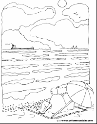 marvelous printable summer coloring pages for kids with coloring