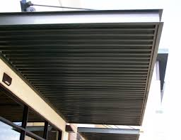 Metal Canopies And Awnings Commercial Awning