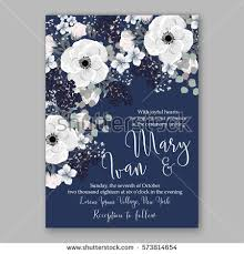 wedding invitation card wedding invitation card template stock vector