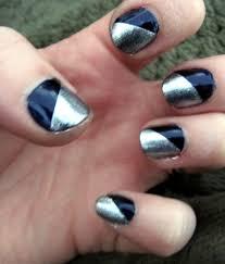 8 nail designs with tape for short nails 32 amazing diy nail art