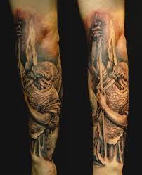 collection of 25 st michael tattoo