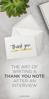 Thank You Letter After Interview Project Manager Best 20 Thank You Interview Letter Ideas On Pinterest