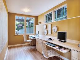home office with two desks home design ideas