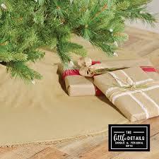 Christmas Tree Skirt Burlap Rustic Christmas Tree Skirt U2013 The Little Details
