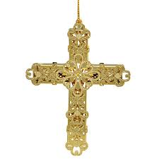 decorative cross ornament chemart ornaments solid brass ornament