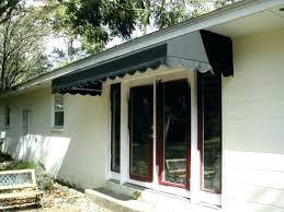 Patio Door Awnings Metal Awnings For Front Doors Awning For Door Best Patio Door