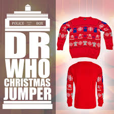 doctor dr who jumper official tardis daleks sweater