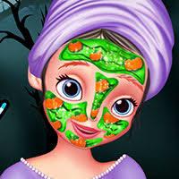 sofia halloween makeover free games