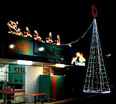 11 best christmas lights display 2013 at snap laundromat brisbane